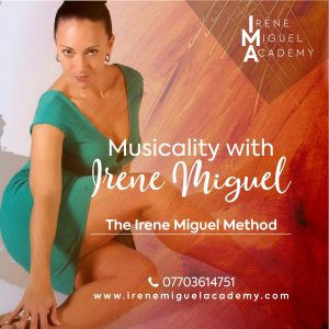 Irene Miguel Musicality Class